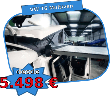 techo elevable VW t6 multivan