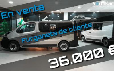 Opel vivaro Camper de segunda mano