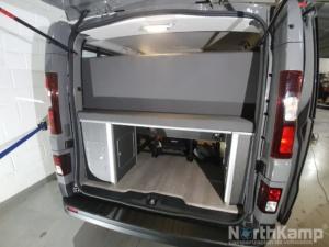 cama en furgoneta camper barata sin ITV