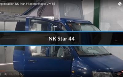 Camperización VW T5