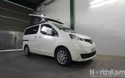 Camperización Nissan NV200 Evalia camper completa