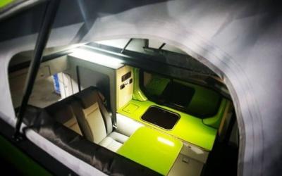 mueble lateral de furgoneta camper