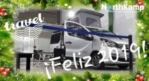feliz año furgoneta camper
