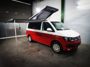 Techo elevable Reimo Easy Fit Open Sky sobre VW Transporter Multivan Caravelle
