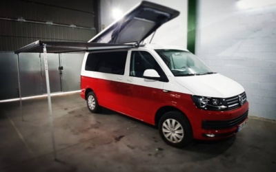 Techo elevable Reimo Easy Fit Open Sky sobre VW Transporter Multivan Caravelle