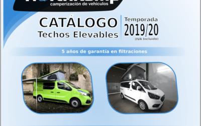 catalogo de instalación de techos elevables
