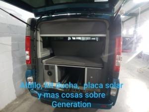 Mueble maletero y altillo furgoneta camper